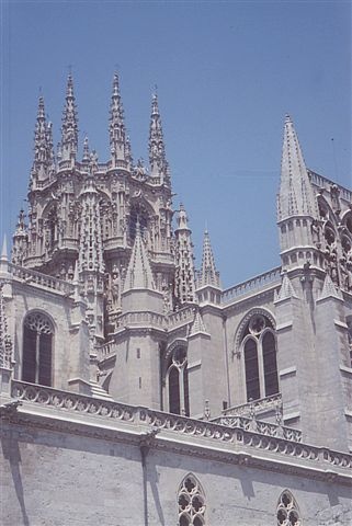 Kathedrale in Burgos