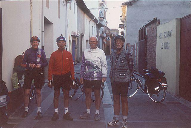 Valentin, Marcel, Hans und Udo