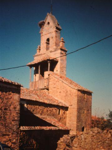 die Kirche in Castrillo