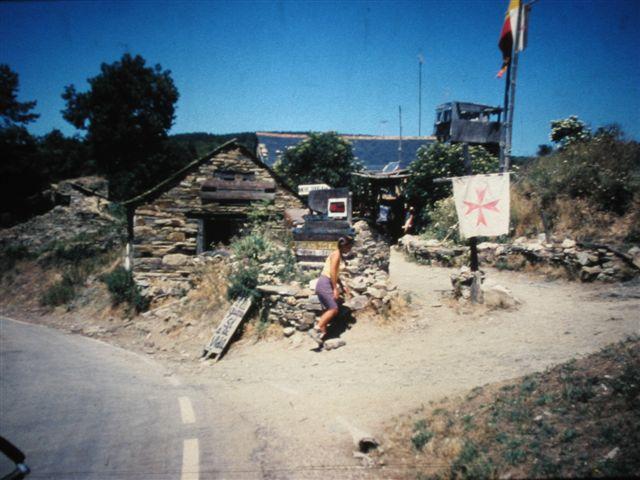 B. auf dem Weg zum Eremiten Tomas in Manjarin