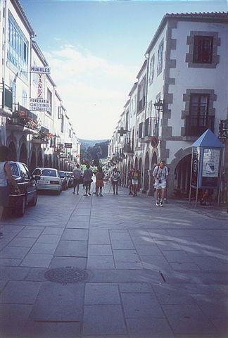 Calle General Franco, Portomarin