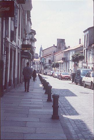 in der rua de San Pedro