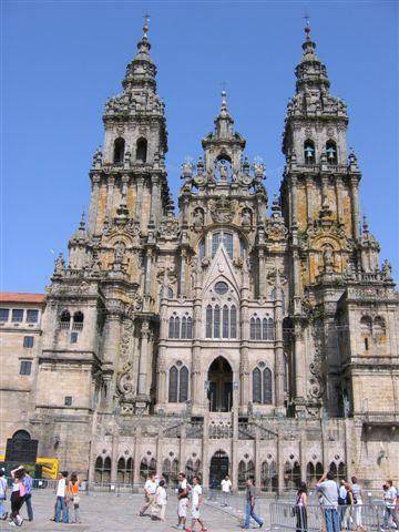 vor der Kathedrale