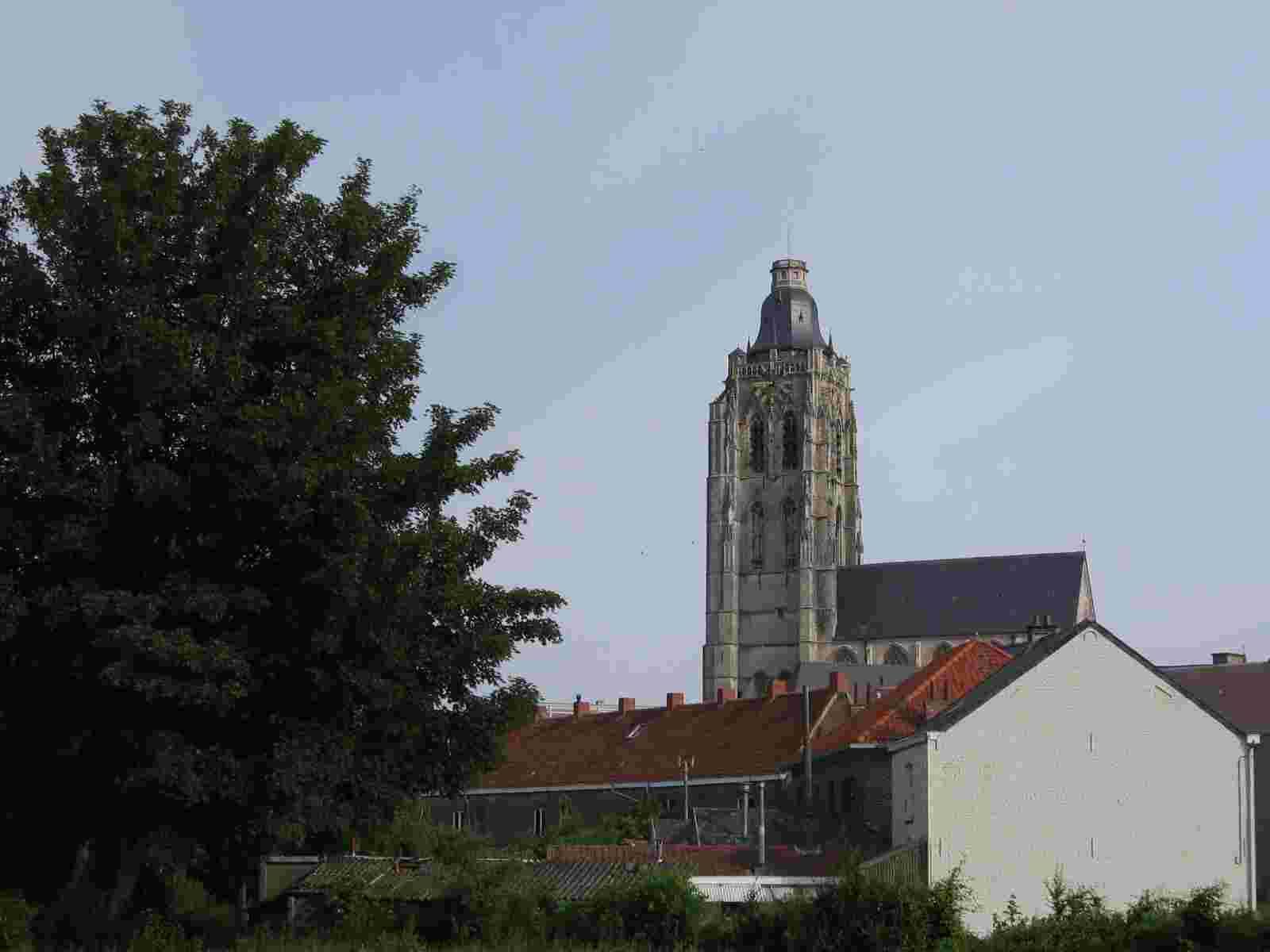 die Kirche von Oudenaarde