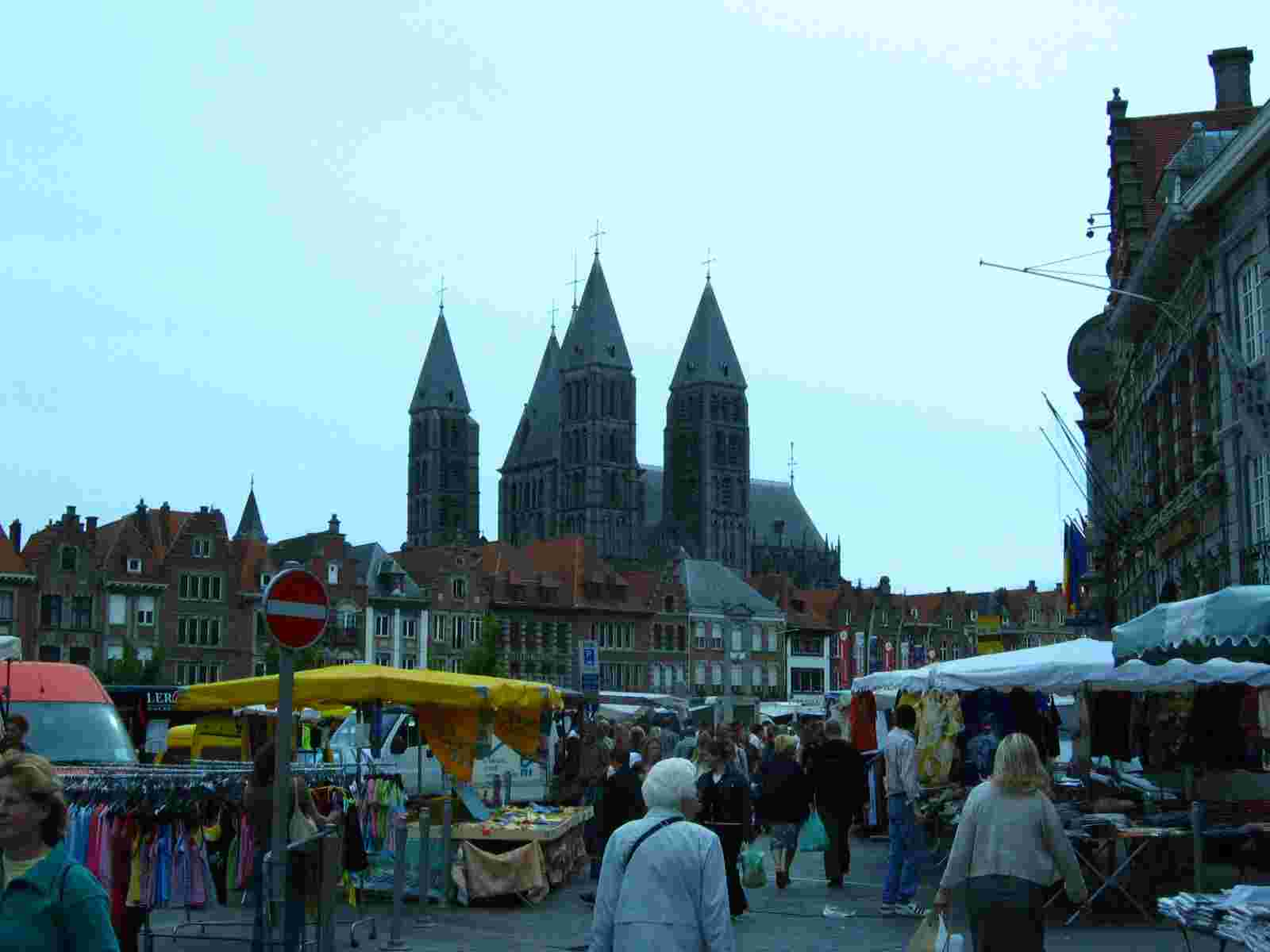 Markttag in Doornik