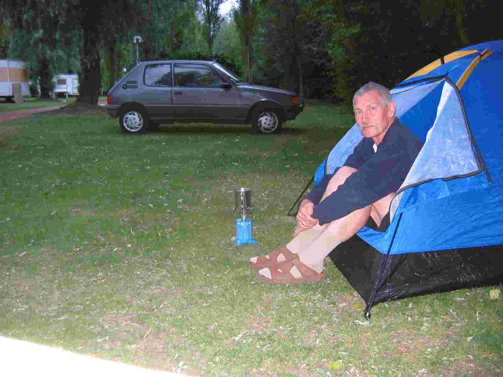 Camping in Tortequesne