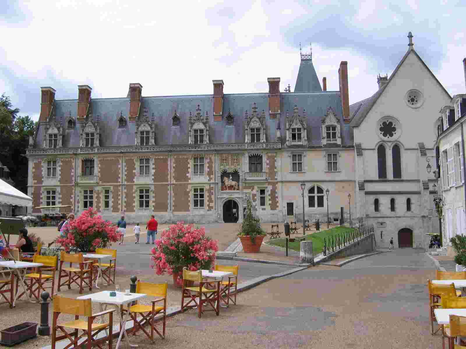 Stadtschloss, Blois