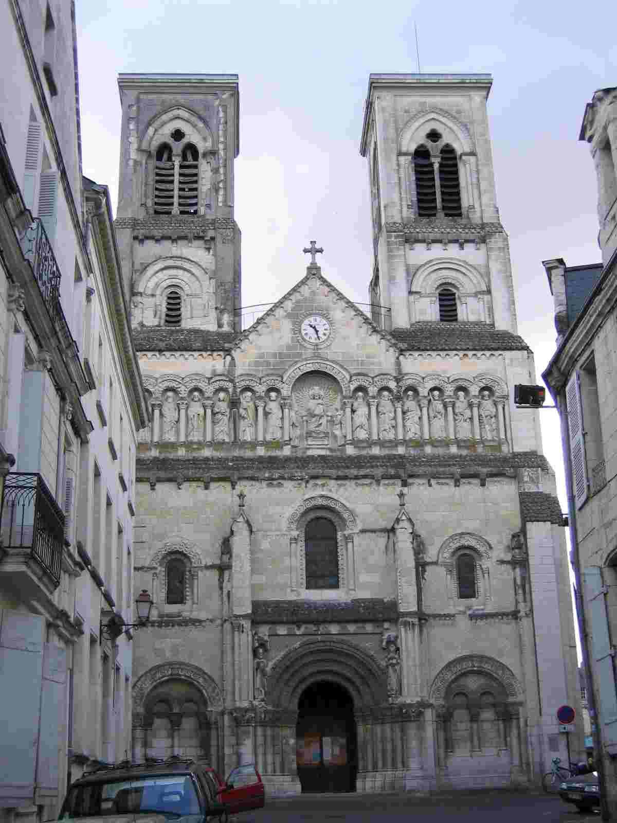 Église Saint Jacques à Châtellerault