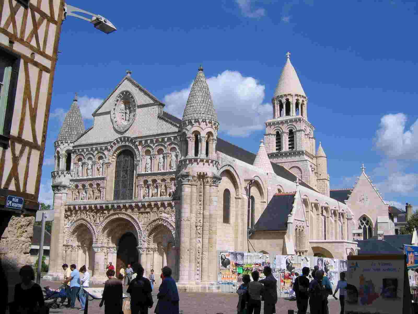 Notre-Dame-la-Grande in Poitiers