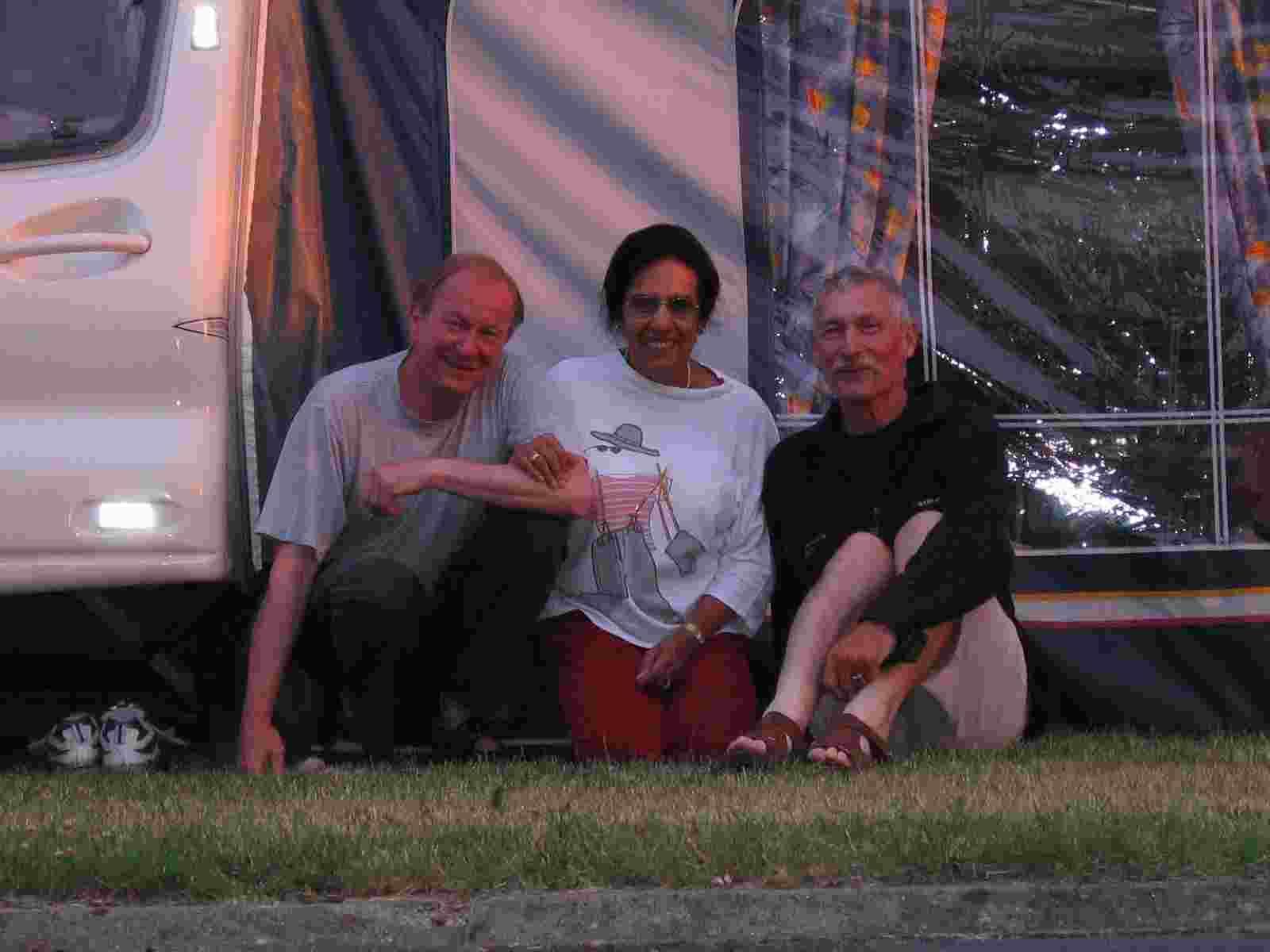 Chrys, Rosy und der Autor
