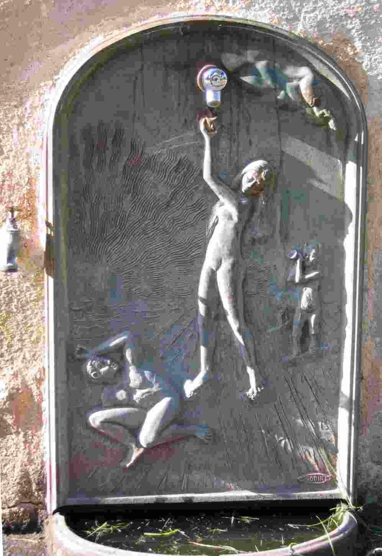 ein Brunnen südlich von Saint Raphael