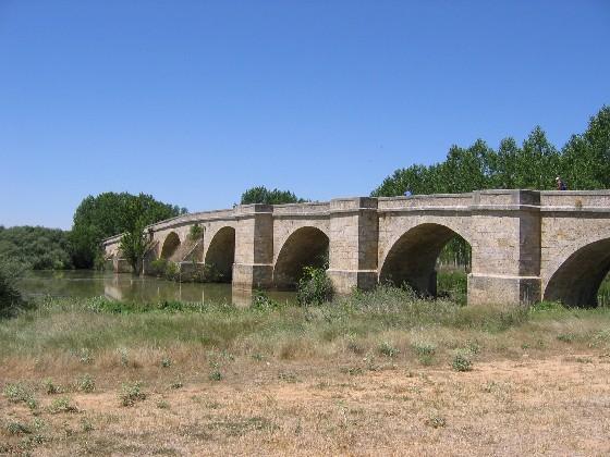 Brücke über den Pisuerga