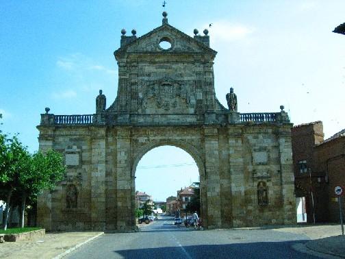 Der Triumphbogen in Sahagun