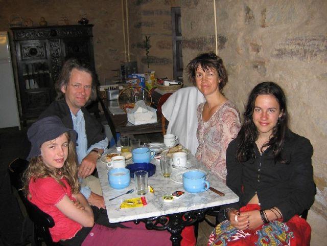 die Pilgerfamilie aus Norwegen