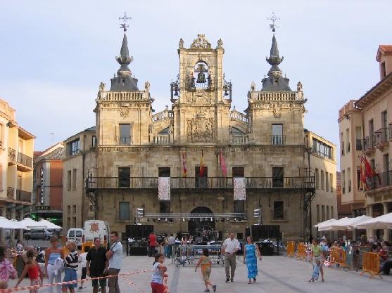 Astorga, das Rathaus