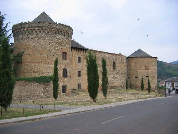 Castillo in Villafranca del Bierzo