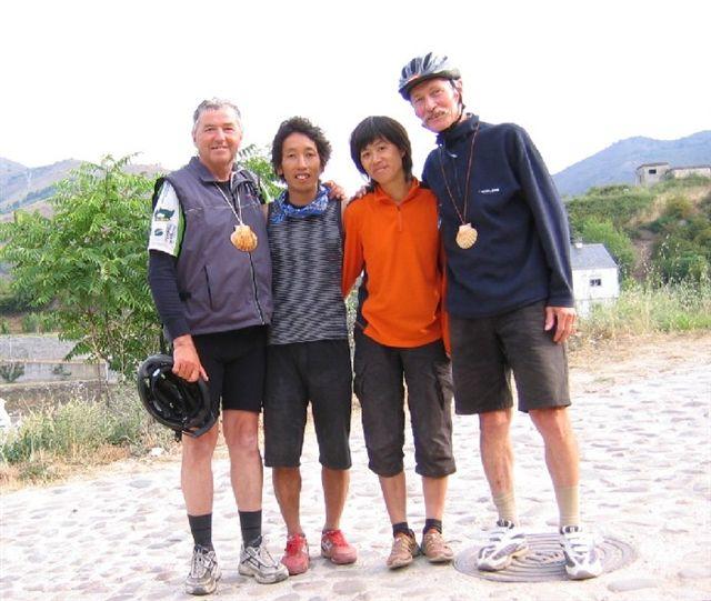 Luis, Katsu+Yasuko und der Autor