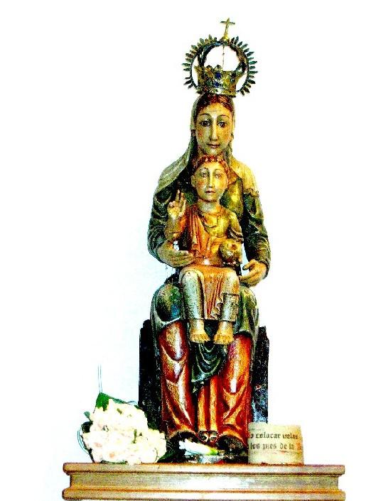 Die hl. Jungfrau von O Cebreiro