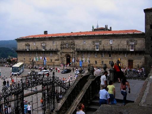 der Parador Hostal de Los Reyes Catolicos