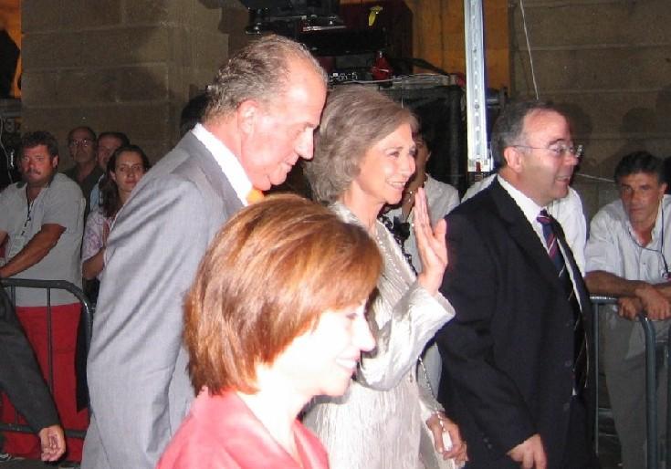 zum ANNO JACOBEO ist traditionell die Königliche Familie anwesend