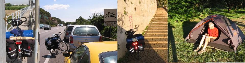 Radfahren und Pilgern – und was mich sonst bewegt.