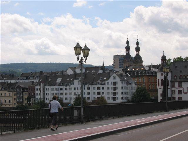 von der alren Moselbrücke zur Koblenzer Altstadt