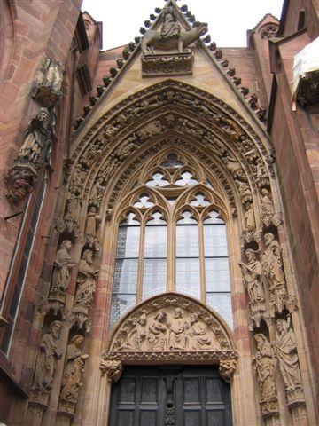 das gotische Südportal
