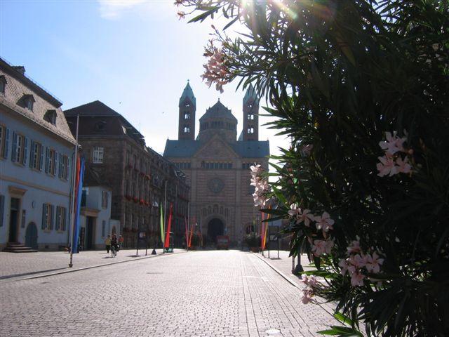 Speyer, Westwerk des Domes