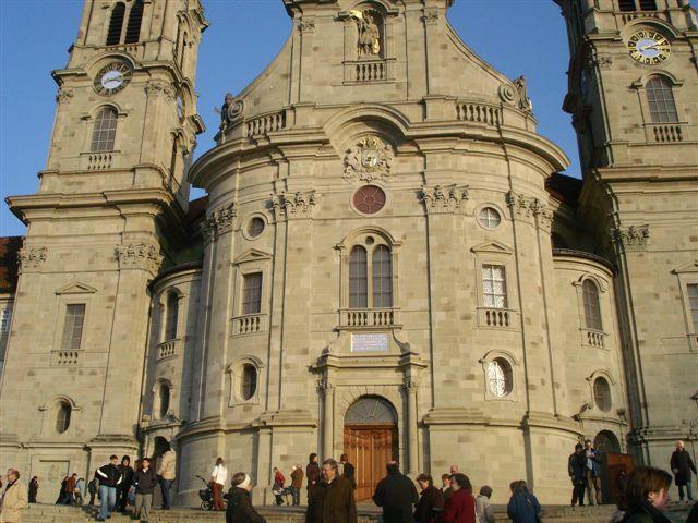 das Münster in Einsiedeln