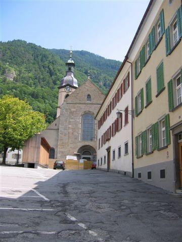 Chur , Kathedrale