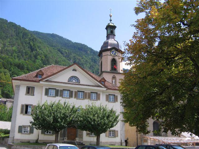 Chur Kathedrale und bischöfliches Schloss
