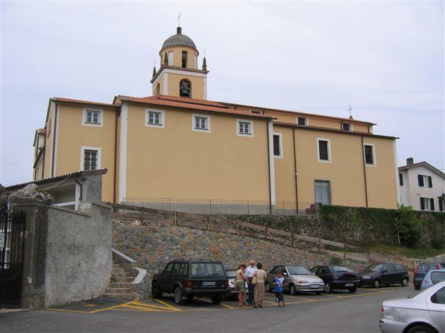die Kirche von San Benedetto