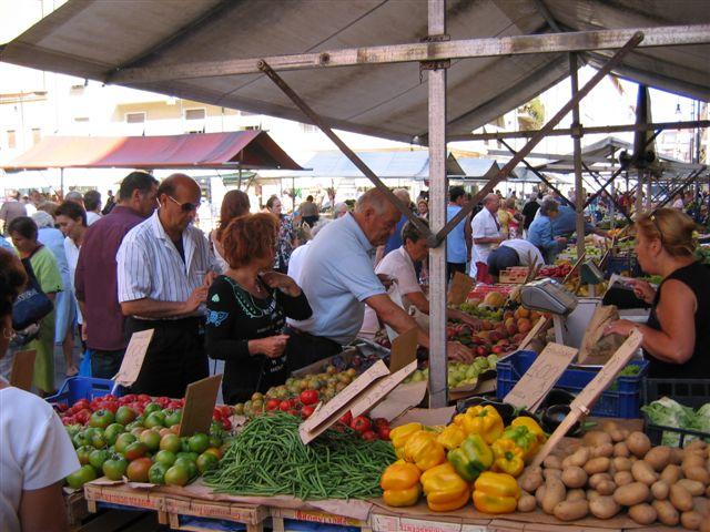 Wochenmarkt in Livorno