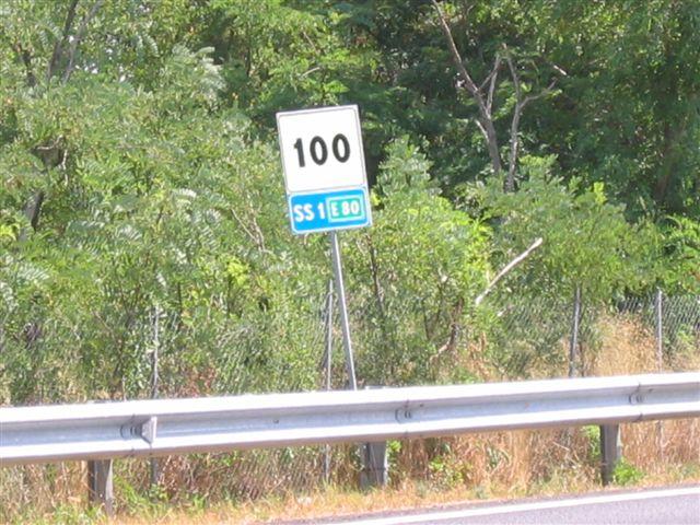 nur noch 100 km