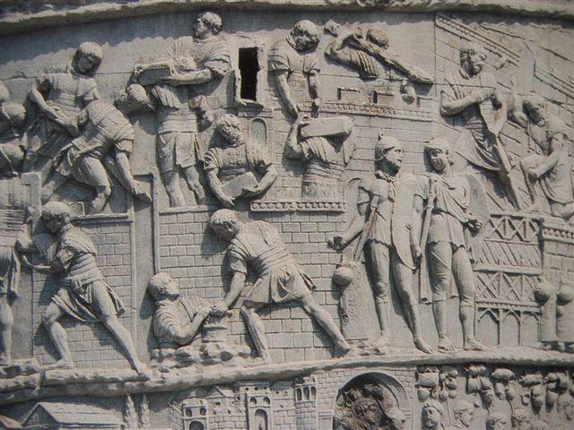 Detail auf der Trajanssäule