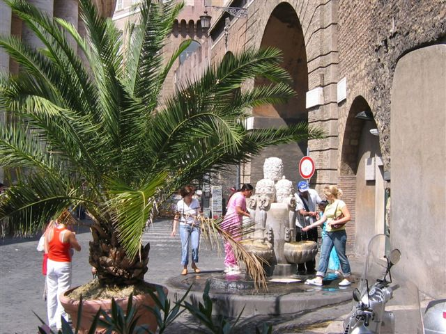 Der Papstbrunnen