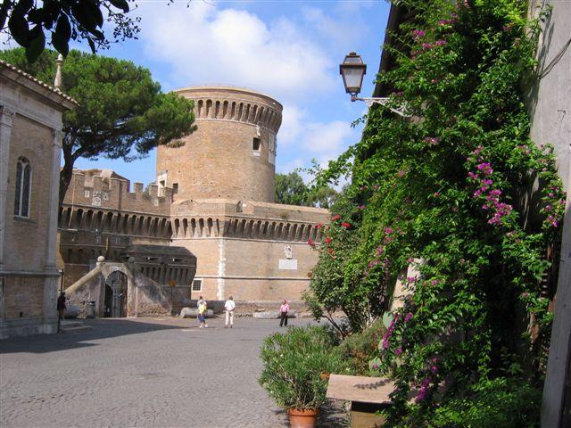 die Citadelle von Ostia Antica