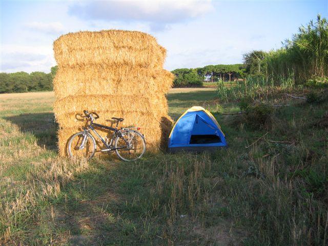 Foto: Meine letzte Nacht im Zelt