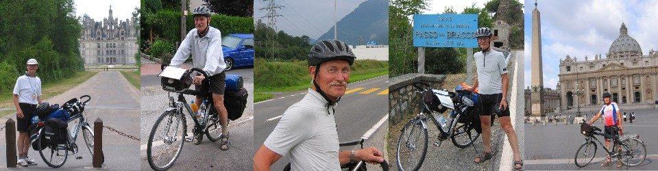 Radfahren und Pilgern - und was mich sonst bewegt.